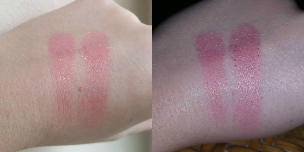 Nars - Orgasm & Super Orgasm swatches