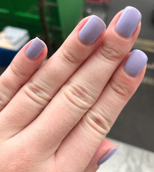 essie - virgin snow #2