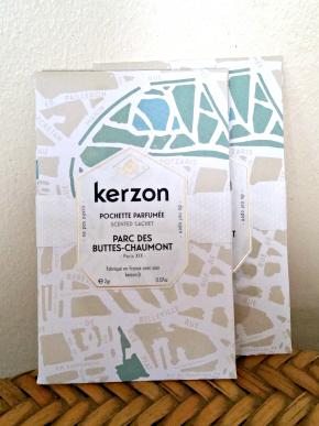 Revue : les pochettes parfumées Parc des Buttes Chaumont deKerzon