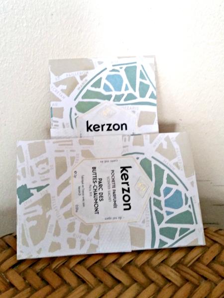 Kerzon - Pochette parfumée Parc des Buttes Chaumont #2