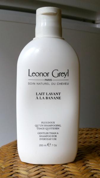 Le Lait Lavant à la Banane de Leonor Greyl : pas pourmoi