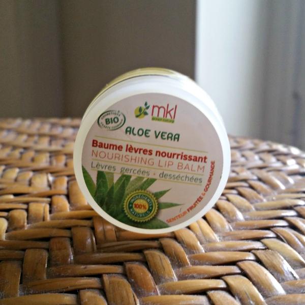 Le Baume à lèvres nourrissant à l'Aloe Vera de MKL Green Nature : mon nouvelindispensable
