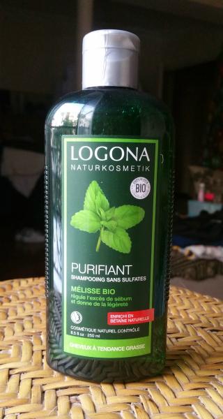 Le shampooing purifiant deLogona