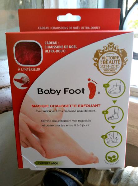 Les chaussettes Babyfoot : efficaces mais pasmiraculeuses
