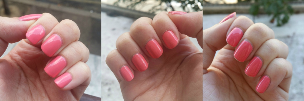 Essie Lounge Lover vs OPI Got Myself into a Jam-Balaya vs OPI Sorry I'm Fizzy Today