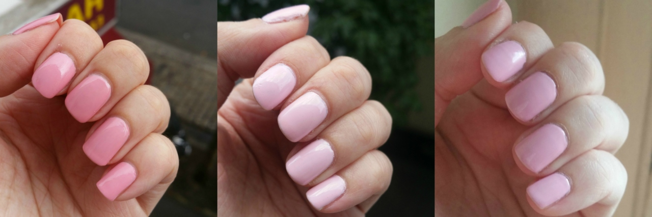 Essie Flawless - Essie Romper Room - OPI Getting Nadi on My Honeymoon