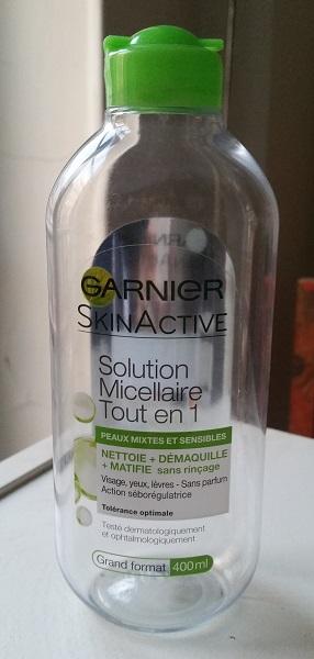 #Empties #2 - Garnier Skinactive micellaire