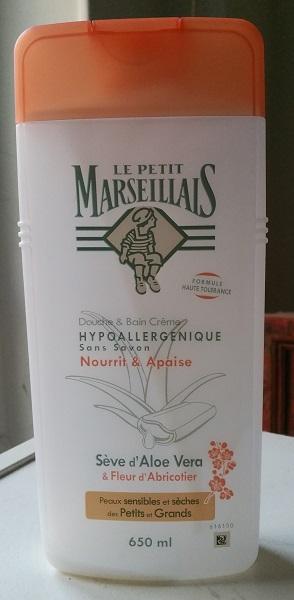 #Empties #2 - Le Petit Marseillais Douche aloe vera abricotier