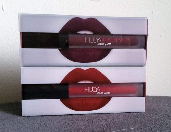 Cheerleader & Famous : les liquid matte de Huda Beauty