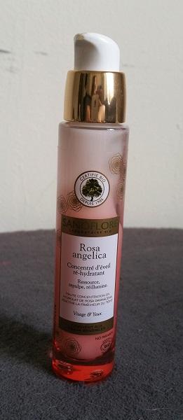 Le Concentré d'Éveil ré-hydratant Rosa Angelica de Sanoflore : ma peau l'aime!