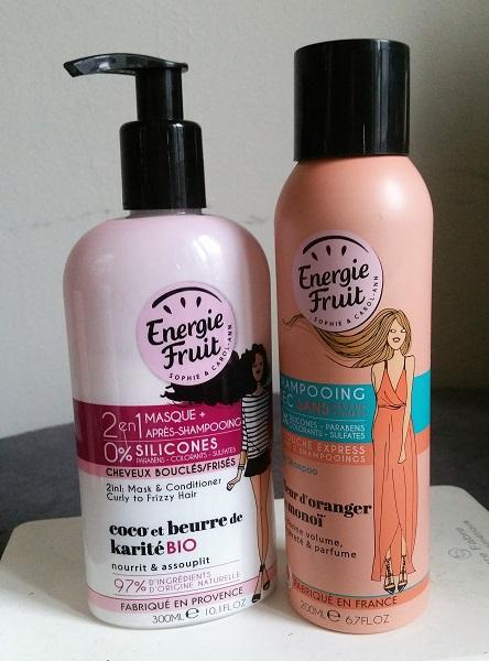 Energie Fruit - 2-en-1 masque et apres-shampooing et shampooing sec #1