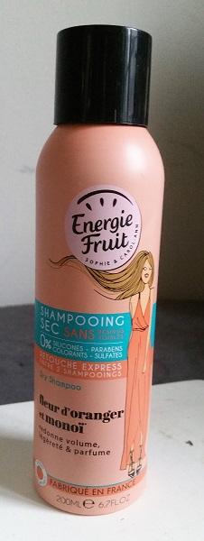 Energie Fruit - 2-en-1 masque et apres-shampooing et shampooing sec #2