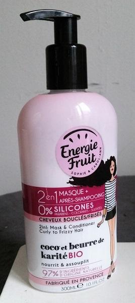Energie Fruit - 2-en-1 masque et apres-shampooing et shampooing sec #3