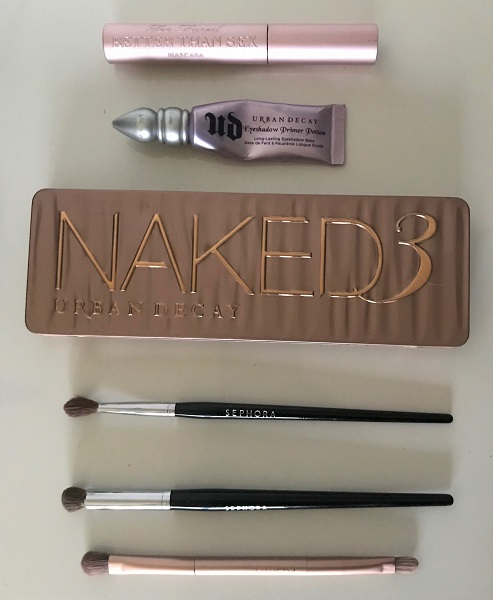 Dusty Rose Make-up ft. Naked 3 – Urban Decay