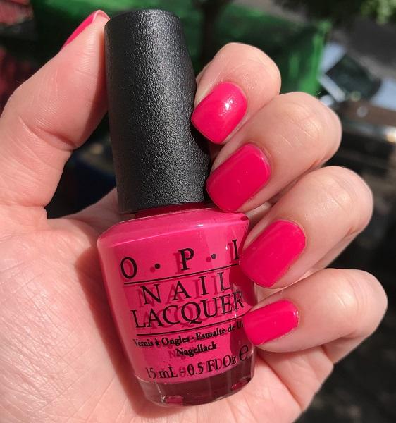 #MardiMani #76 : Strawberry Margarita –O.P.I