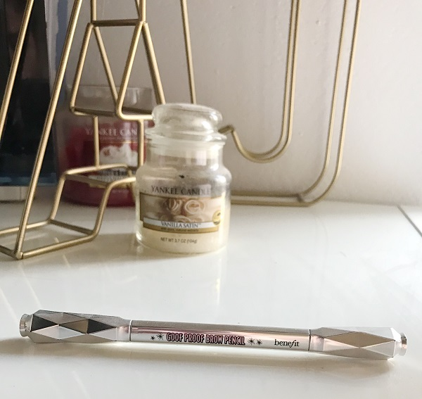 empties juillet 2018 benefit goof proof brow pencil