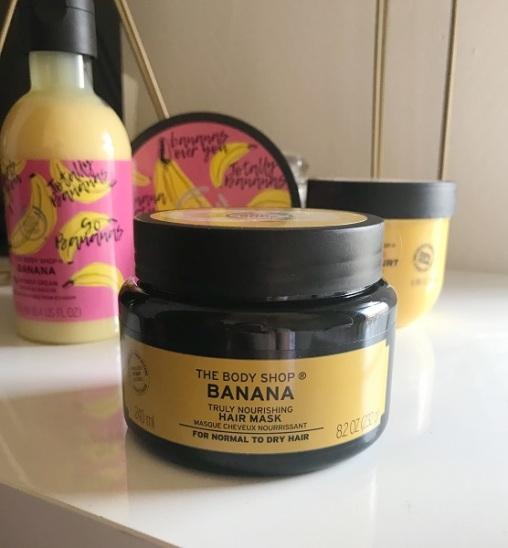the body shop - masque cheveux nourrissant banane #1