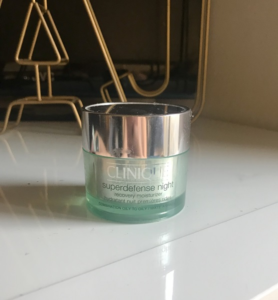 Empties #12 jadebeautytips - clinique superdefense night