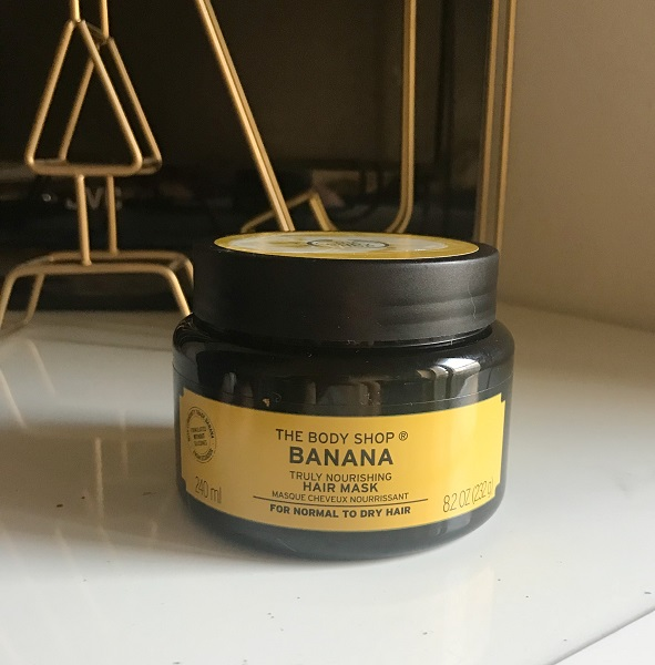 Empties #12 jadebeautytips - the body shop banana hair mask
