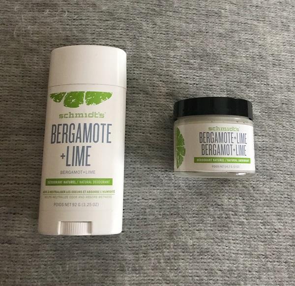 Schmidt's - deodorant bergamot + lime #1