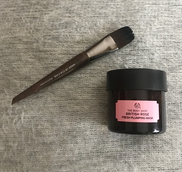 British Rose Fresh Plumping Mask – The Body Shop : le masque cocooning par excellence!