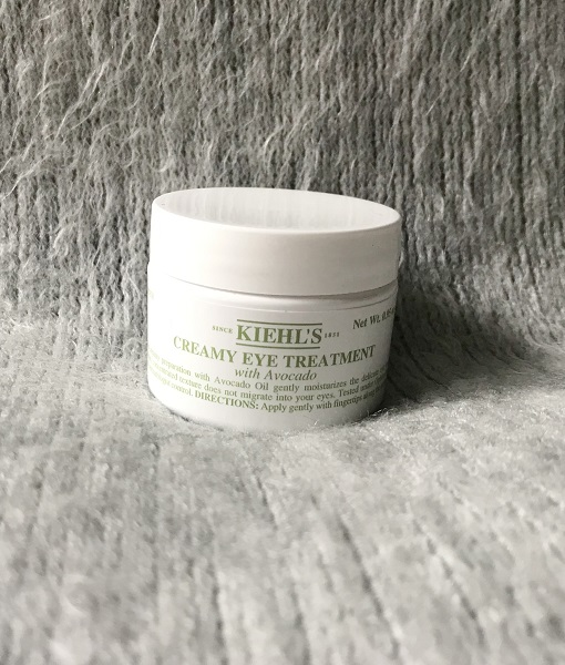 skincare routine matin soir jadebeautytips kiehls creamy eye treatment avocado