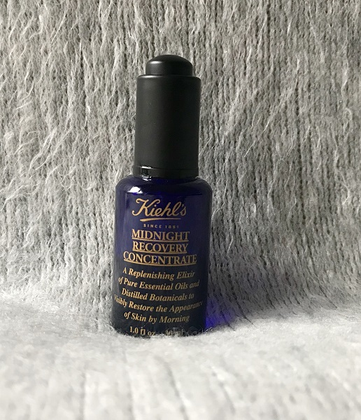 Skincare routine soir - jadebeautytips - kiehls midnight recovery concentrate.jpeg